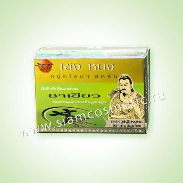 Отшелушивающее мыло-скраб Shen Nung Aroma Scrub Soap
