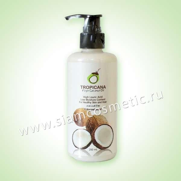 """Натуральное кокосовое масло """"Tropicana"""""""