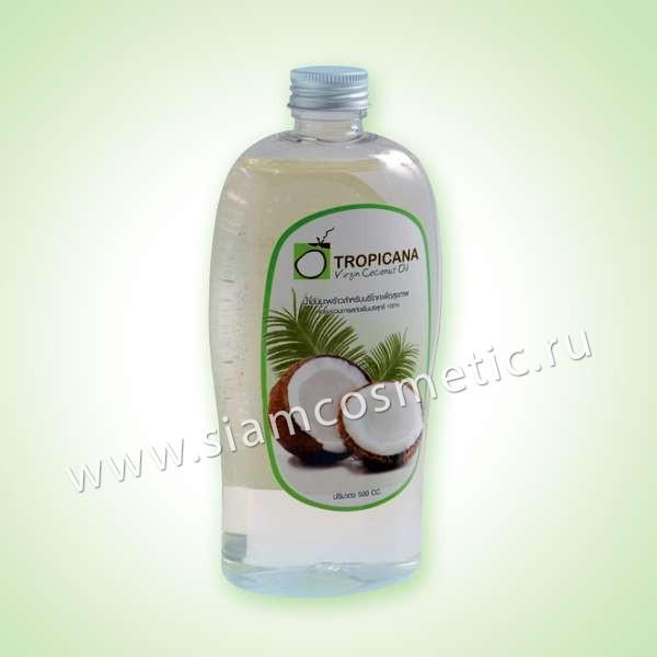 Натуральное нерафинированное кокосовое масло Tropicana