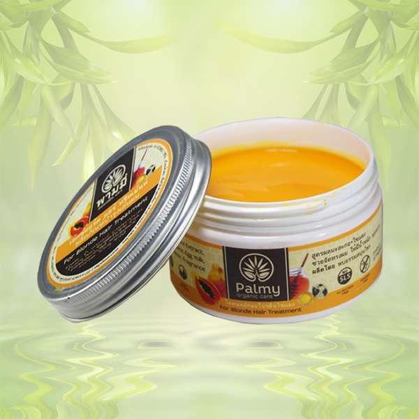 Маска для волос с папайей и диким медом