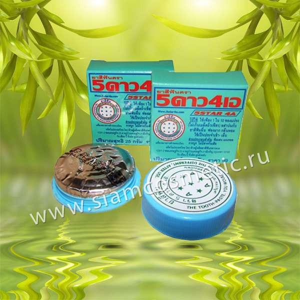 Круглая зубная паста 5 Star