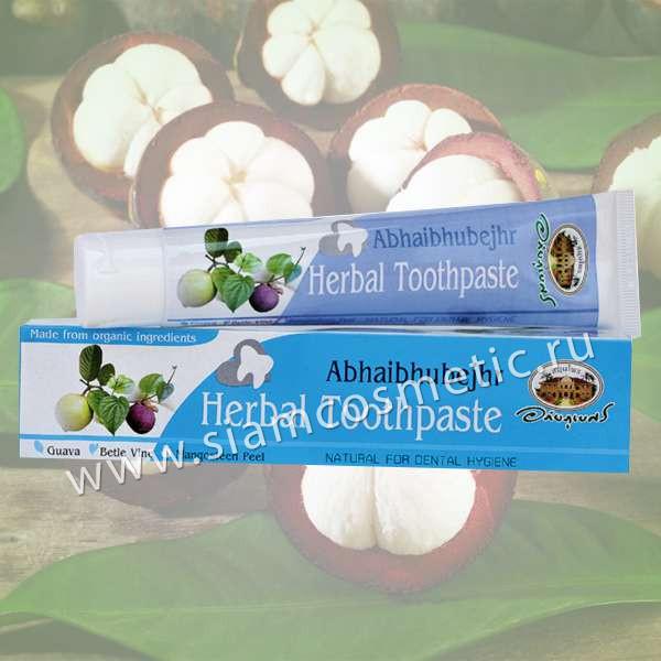 Черная зубная паста с экстрактом мангустина и гуавы